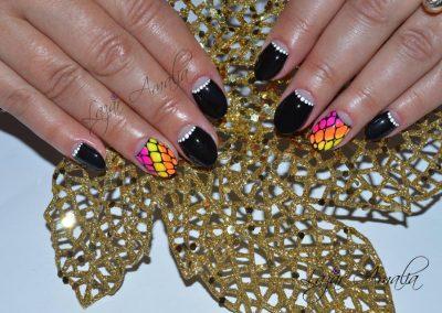 Individual nails and beauty