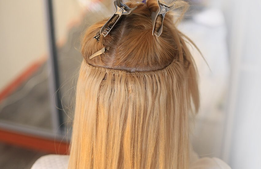 Quality human hair extensions
